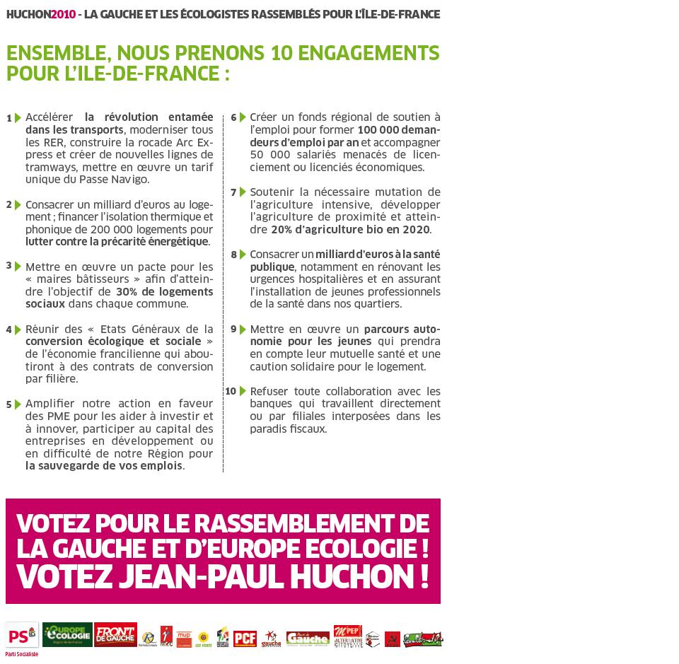 REGIONALES SECOND TOUR 2
