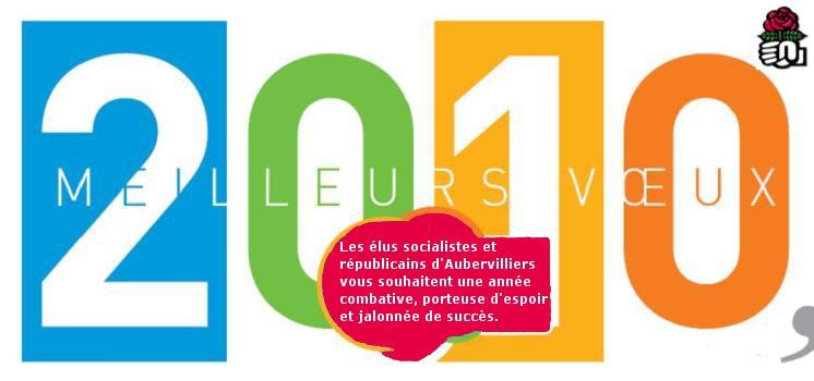 Voeux PS Aubervilliers 2010