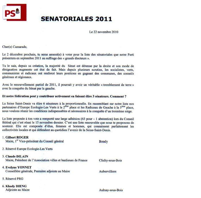 Senatorial