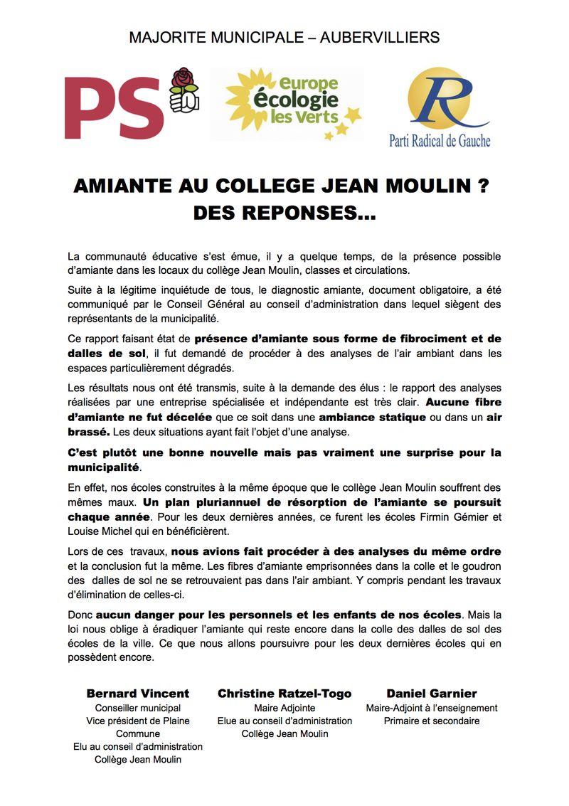 2012.1.30 Amiante au collège Jean Moulin